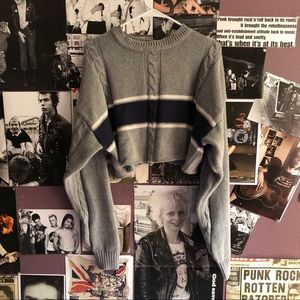 Chunky 90s Grey Sweater 🥰